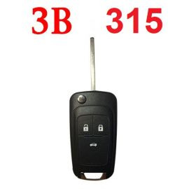 (315MHz) 3 Buttons Flip Remote for Chevrolet Cruze ID46