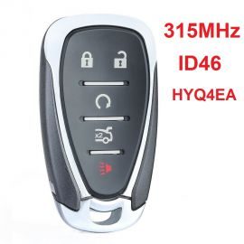 (315Mhz) HYQ4AA 4+1 Buttons Smart Key for Chevrolet