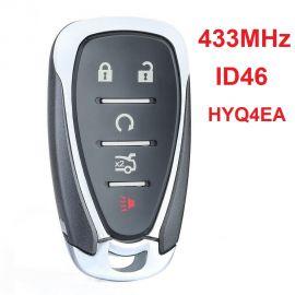 (434MHz) HYQ4EA 4+1 Buttons Smart Key for Chevrolet Malibu