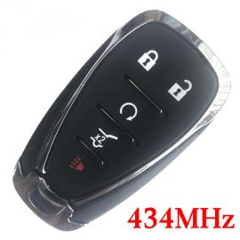 (433Mhz) HYQ4EA 5 Buttons Smart Proximity Key for 2018-2019 Chevrolet Traverse