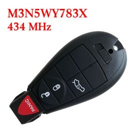 434 MHz 3+1 Buttons Remote Fobik Key for Chrysler / Dodge 2008-2012 #2 - M3N5WY783X