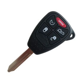 (315MHz) OHT692427AA 4+1 Buttons  Remote Head Key for Chrysler / Jeep / Dodge 2006-C2014