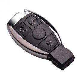 Silver NEC Smart Key BGA Remote Mercedes-Benz 3 Buttons 433MHz