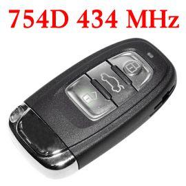 434 MHz Remote Key for Audi A4L Q5 - PCF7945 - 8T0 959 754D