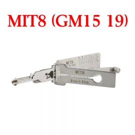 Original LISHI MIT8 (GM15 19) Auto Pick and Decoder
