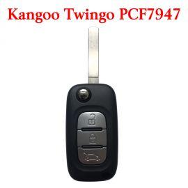 3 Buttons 434 MHz Flip Remote Key for Renault Clio3 Master Kangoo Twingo