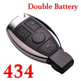 3 Buttons 434 MHz NEC Smart Key For Mercedes Benz C E S Class - with Double Batteries