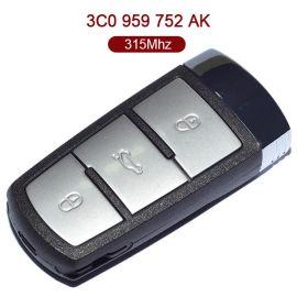 315 MHz VW Magotan Smart Proximity Key - Keyless Go ID48