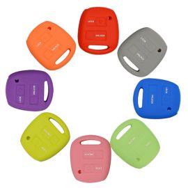 Silicone Cover for 2 Buttons Toyota Camry, Prado, Land Cruiser Car Keys - 5 Pieces