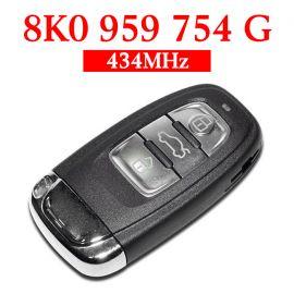434 MHz Remote Key for Audi A4L Q5 - 8K0 959 754G