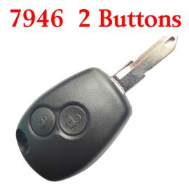2 Buttons Remote Key fo?r Renault?Traffic Master Vivaro Movano Kango?433MHz with PCF7946 chip