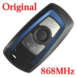Original 3 Buttons 868 MHz Smart Key for 2009-2014 BMW 3 / 5 7 Series / YGOHUF5767