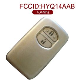 for Toyota Smart Key 2 Button 434MHz HYQ14AAB