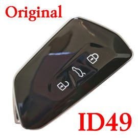 Original 3 Buttons 434 MHz Smart Proximity Key for VW - ID49