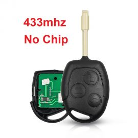 (434MHz) 3 Buttons  Remote Head Key for Ford (No Chip)
