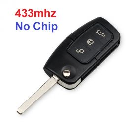 (433MHz) 3 Buttons  Ford Remote Key without Chip