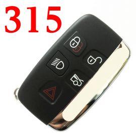 5 Buttons 315 MHz Smart Proximity Key for Jaguar