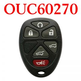 (315MHz) 5+1 Buttons  Remote Control for Chevrolet GMC Buick - OUC60270
