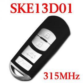 315 MHz 4 Buttons Smart Proximity Key for Mazda 3 / 6 - with OEM Board - SKE13D01