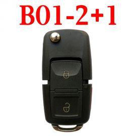 KEYDIY B01-2+1 KD Universal Remote Controls -5 pcs