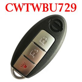 (315Mhz) CWTWBU729  2+1 Buttons Smart Proximity Key for Nissan 2007-2013 Pathfinder Rouge Versa - CWTWBU729 / 624 / 735