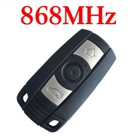 3 Buttons 868 MHz Remote Key for 2004 ~ 2011 BMW 3 / 5 Series