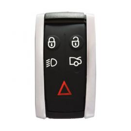 5 Button XS XF XK XKR Type Smart Key Remote Shell for Jaguar 1pcs
