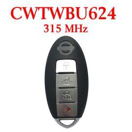 315 MHz 3+1 Buttons Smart Proximity Key for Nissan  Armada 2007-2015 - CWTWBU624
