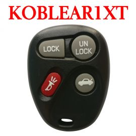 (315 MHz) 3+1 Buttons Remote Control for Chevrolet GMC - KOBLEAR1XT