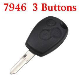 Remote Control Key?for Renault 3 Button 433MHz with PCF7946 ID46 Electronic Chip
