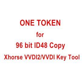 1 Token for Xhorse VVDI Key Tool 96 bit ID48 Copy