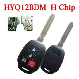 3+1 Buttons 314 MHz Remote Heady Key for Toyota Camry Corolla 2014-2018 - HYQ12BDM with H Chip
