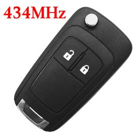 (433Mhz) 2 Buttons Flip Remote for Chevrolet Cruze ID46