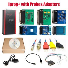 V84 Iprog+ Pro Programmer with Probes Adapters for in-circuit ECU