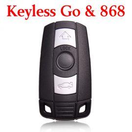 868 MHz Smart Proximity Key for BMW CAS3 - 5WK49145