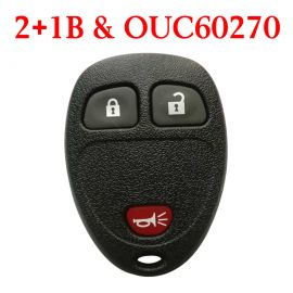 3 Buttons 315 MHz Remote Control for GM Buick Chevrolet Pontiac - OUC60270