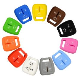 Silicone Cover for 3 Buttons Opel Car Keys - 5 Pieces