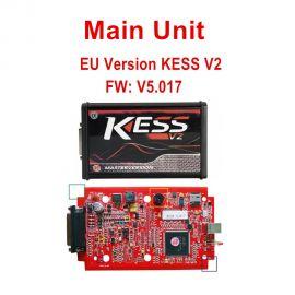 Main Unit of Kess V2 V5.017 EU Version SW V2.47 with Red PCB Online Version Support 140 Protocol