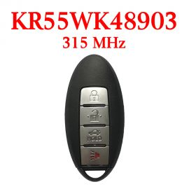 (315MHz) KR55WK48903 3+1 Buttons Smart Proximity Key for Nissan Altima Maxima 2007-2014