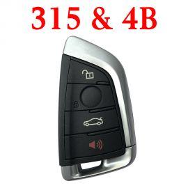 Smart Remote Key for BMW FEM - 4 Buttons 315 MHz