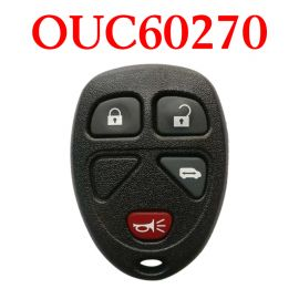 3+1 Buttons 315 MHz Remote Control for Chevrolet - OUC60270