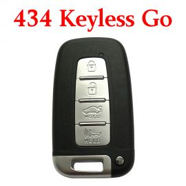 4 Buttons 434 MHz Smart Proximity Key for Hyundai Kia