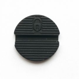 2 Buttoons Rubber For Nissan Key Shell - Pack of 10