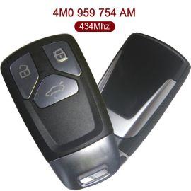 434 MHz Remote Key for Audi Q7 - 4M0 959 754AM