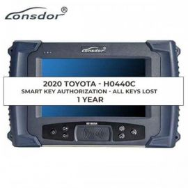 Lonsdor 2018 2019 2020 Toyota Lexus AKL Online Calculation 1 Year Activation for K518ISE & KH100+