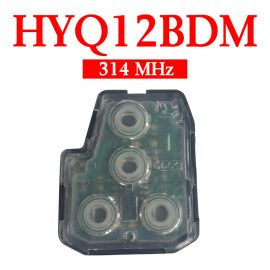 3+1 Buttons 314 MHz Remote Interior Set for Toyota - HYQ12BDM