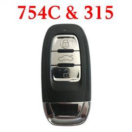 315 MHz Remote Key for Audi Q5 A4L - 8K0 959 754C