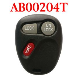 2+1 Buttons 315 MHz Remote Control for Chevrolet - AB00204T