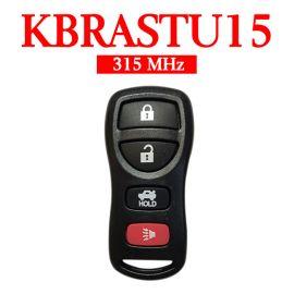315 MHz 3+1 Buttons Keyless Entry Remote for Nissan / Infiniti 2002-2015 - KBRASTU15