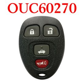 3+1 Buttons 315 MHz Remote Control for GMC Chevrolet - OUC60270  & OUC60221